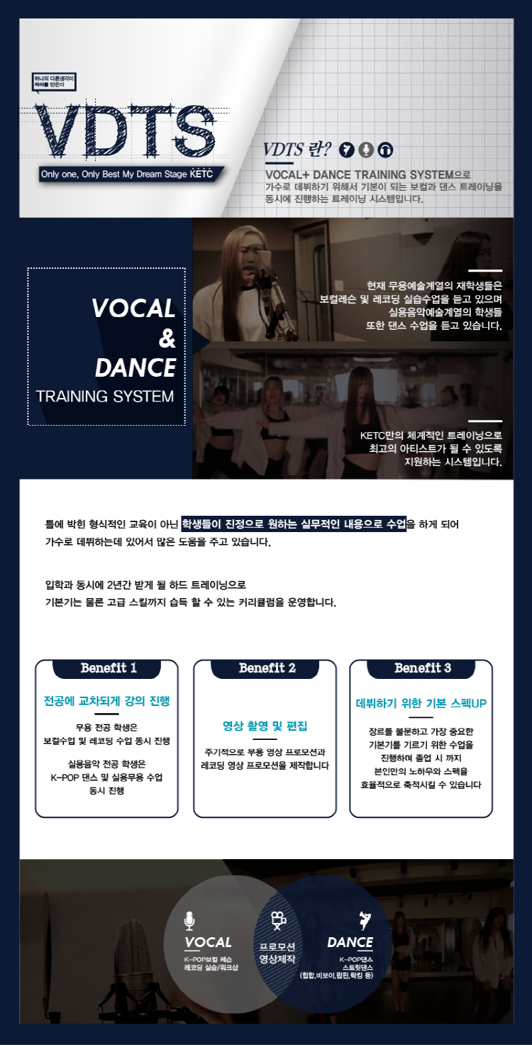 KETC VOCAL & DANCE TRAINING SYSTEM 공개